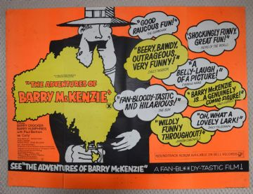 Adventures of Barrie McKenzie (1972) - Vintage Poster | UK Quad Poster